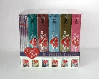 I Love Lucy Series Sealed DVD Disc Collection, All 6 Seasons, 180 Episodes, TV Show, Lucille Ball