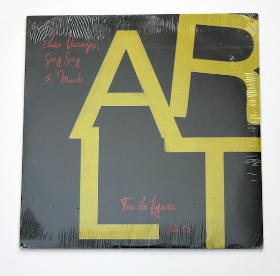 ARLT Feu La Figure LP Vinyl Record Album, New Sealed, 2012 Almst06LP Ltd Ed. 1 of 500