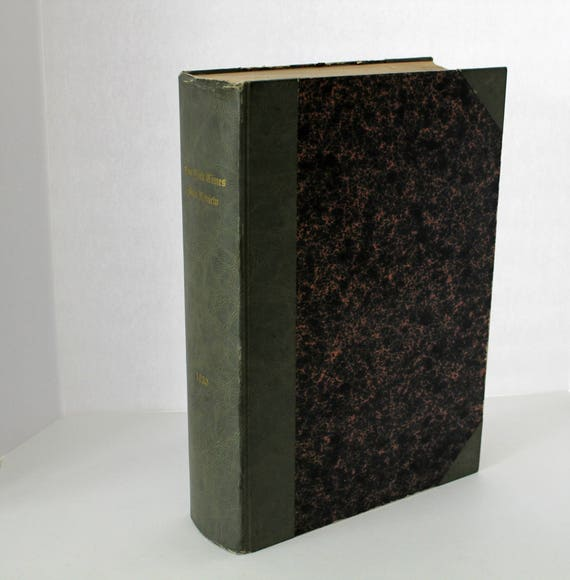 Vintage 1930 New York Times Book Review Bound Editions, Full Year of Weekly Newspaper Supplements