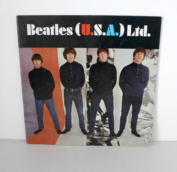 Beatles USA Ltd 1966 Tour Book, Music Memorabilia