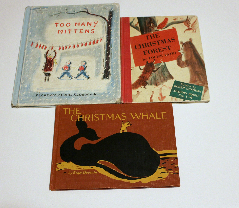 The Littlest Christmas Tree Story: 18 Vintage Christmas Books For Children, Including The
