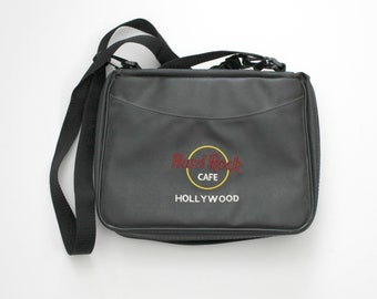 Hard Rock Cafe Pin Lot of 67 Plus Hollywood Collector Bag