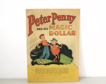 Peter Penny And His Magic Dollar Comic, 1947 American Bankers Assoc, Publicity, SOTI