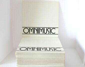 OmniMusic Lot of 40 LP Record Albums, Complete Set 1-40, OM 101 - 140 Franklin Douglas, TV, Film, Radio