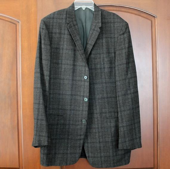 Vintage Rough Rider CA Mens Jacket Blazer, Rockabilly 60s Suit Jacket