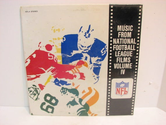 Vintage NFL Football Lp Record Music From National Football League Films Vol. IV SEALED Vinyl Lp