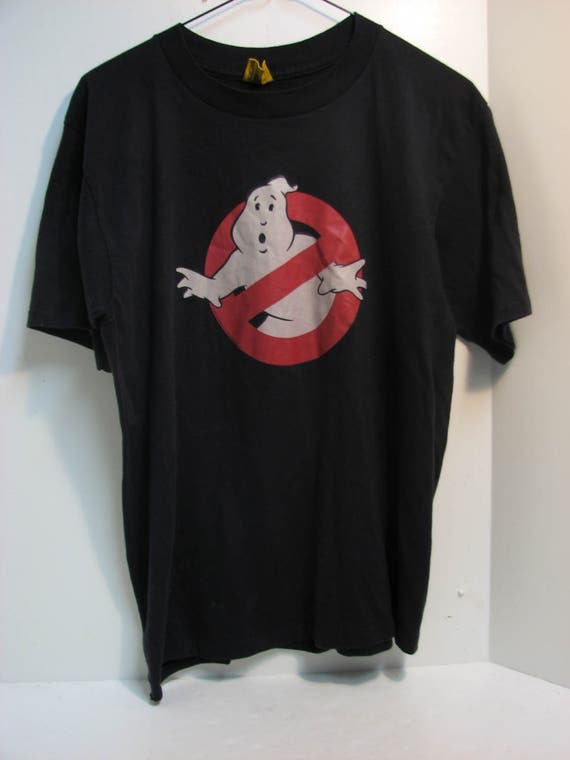 20% OFF Vintage Ghostbusters Black Sweathsirt Movie Promo / Ghostbusters Crewneck / Movie Sweater MaLHdnxkT