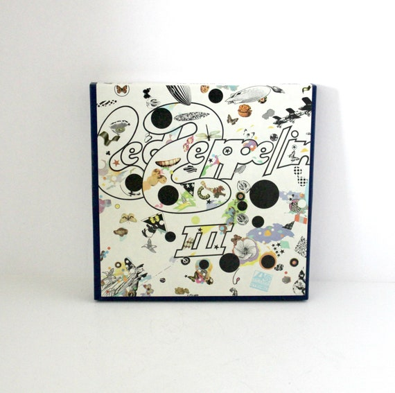 Led Zeppelin III 3 Reel Tape 4 Track 7 1/2 IPS Stereo Atlantic M 7201