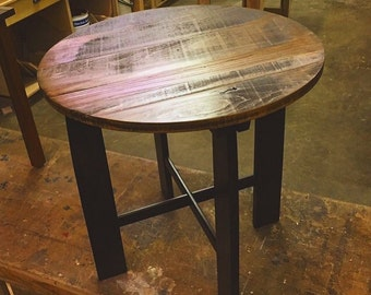 Upcycled Accent Table