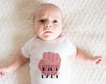 Riot Baby -  Baby Onesie  -  Bodysuit Mother's Day Gift