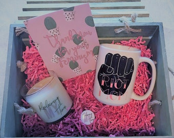 Feminist Mom Gift Basket - Riot Mom - Reclaiming My Time - Thank you for your Feminism - Perfect for Mother's Day!