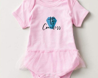 New York Housewives inspired Baby Girl Onesie - The Countess