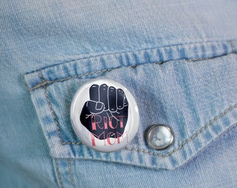 Riot Mom - Button - Pinback  - Pin- Glossy - Mother's Day