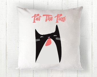 The Real Housewives of Beverly Hills inspired Pat The Puss - Erika Jayne's signature move Throw Pillow