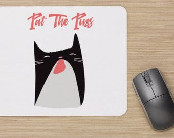 Real Housewives of Beverly Hills inspired Mouse Pad Pat The Puss - Dorm Room Office Decor Home Office RHONY