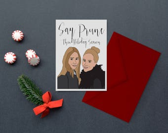 Say Prune This Holiday Season - Holiday / Christmas Card
