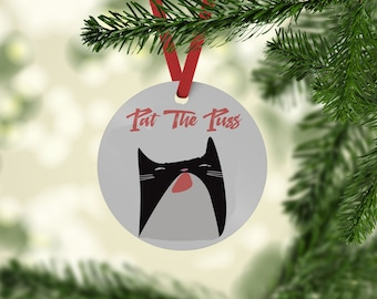 Real Housewives of Beverly Hills inspired  Christmas Tree Ornament - Pat The Puss