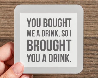 Ramona Coasters - 4 different coasters included in each set - RHONY - Real Housewives of New York Drink Coaster Gift Set