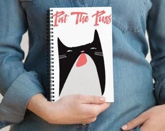 Pat  Puss Notebook - Lined - Journal