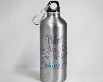 Real Housewives of New York City inspired - What are you doing here without Dorinda? Stainless Steel  Water Bottle w/ Straw Top - RHONY
