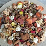 Country Harvest Potpourri, Rustic, Turkey, Pumpkin, Autumn Leaves, Room Scent, Fall Potpourri, Botanicals, Refresher Oil Included