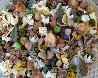 Cozy Country Cabin Potpourri, Rustic, Room Scent, Home Fragrance, Fall Potpourri, Winter Potpourri, Botanicals, Refresher Oil Included