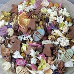 Country Easter Basket Potpourri, Spring Potpourri, Spring Fragrance, Easter Decoration, Easter Eggs, Chocolate Rabbit,Refresher Oil Included