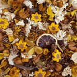Sunflower Summer Country Potpourri, Sunflower Potpourri, Summer Potpourri, Room Fragrance, Sunflower Decor, Choose Your Scent