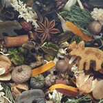 Old Country Lodge Artisan Potpourri, Rustic Potpourri, Sportsman Potpourri, Forest Decor, Lodge Decor, Black Bear, Moose, Choose Your Scent