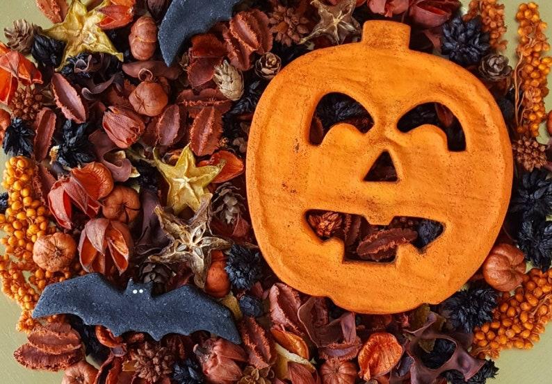 Jack O Lantern Halloween Artisan Potpourri image 0