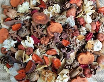 Country Pumpkin Patch Fall Potpourri, Autumn Decor, Rustic, Farmhouse Decor, Room Scent, Fall Potpourri, Botanicals, Refresher Oil Included