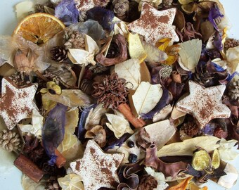 Starry Skies Country Potpourri, Rustic, Salt dough, Room Scent, Winter Potpourri, Summer Potpourri, Star, Refresher Oil Included