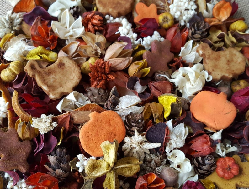 Autumn Country Harvest Artisan Potpourri image 0