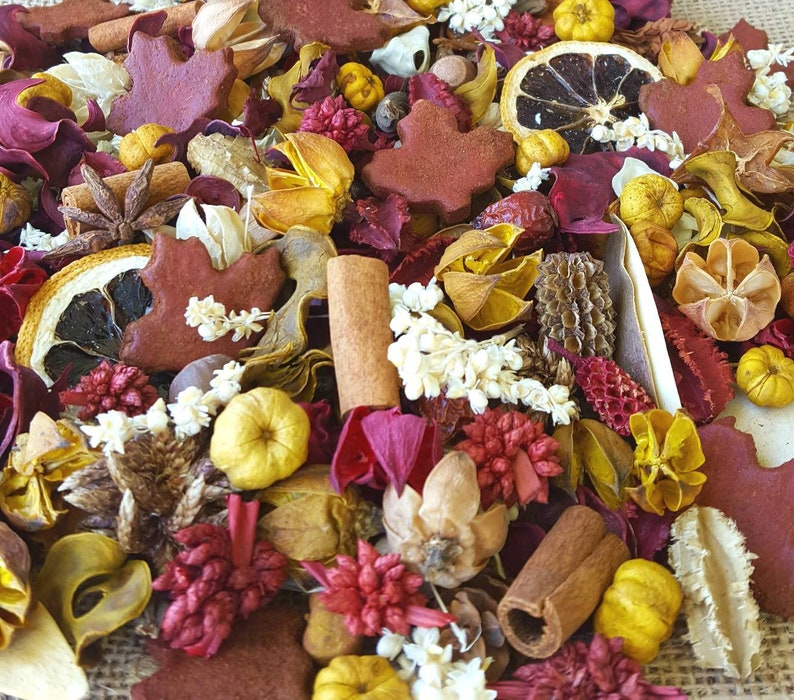 North Woods Maple Leaves Artisan Potpourri image 0