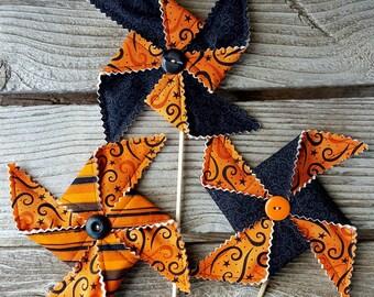 Halloween Pinwheel Party Decoration - Swirls