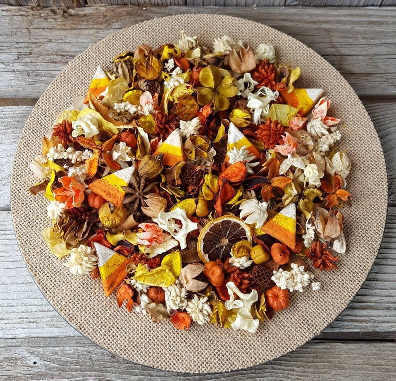 Candy Corn Artisan Potpourri for Halloween image 0