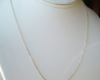 Best Seller Fine Gold Chain Necklace 14K Gold fill 15, 16, 17, 18, 20, 22, 24, 30 inch, Long Layering Gold Chain for Necklace, Best Seller