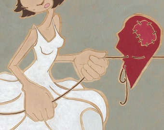 Heart Strings_Limited Edition Art Print_by Shayne Art