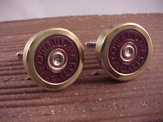 Bullet Cufflinks  Federal 12 Gauge Shotgun Shell Cuff Links  Wedding Cufflinks  Real Shotgun Shells  Groomsmen Gifts  Gift For Him