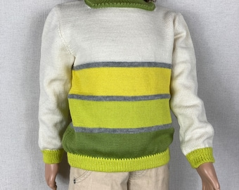 100% Merino Wool Sweater/Pullover - Sizes from 2T  to 6T