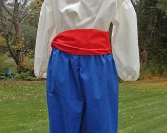 Boy's Costume Set Size 4/5 to size 14