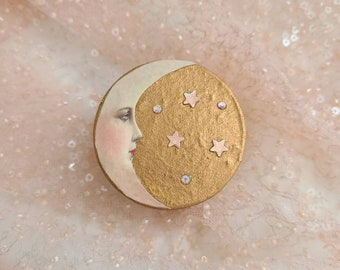Talking to the moon - Simply Beautiful - intention box