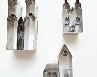 Studio destash - Small Stainless Cathedral Church Birkmann Cookie Cutters