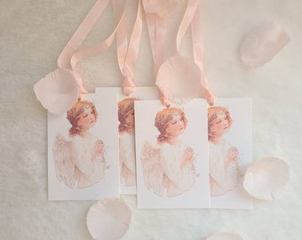 Angel of love gift tag set