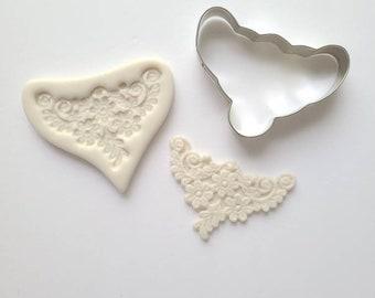 Studio destash - Sugar Bouquets - Lace Gumpaste Mold and Cutter