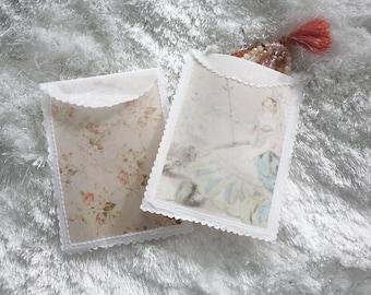 vellum whisper pouches flower fairy