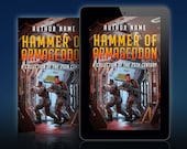 Premade Science Fiction Book Cover: military science fiction, space marines. Customizable.