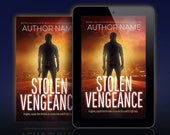 Premade Thriller Book Cover. Suspense, mystery or action. Ebook and paperback. Customizable.