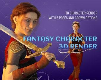 Sibylla: epic fantasy / romance stock image
