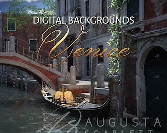 Venice Digital Background - 3D render
